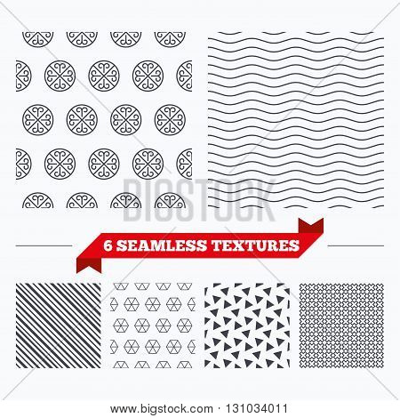 Diagonal lines, waves and geometry design. Ornate lines texture. Stripped geometric seamless pattern. Modern repeating stylish texture. Material patterns.