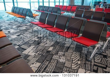 Airport Terminal, Seats