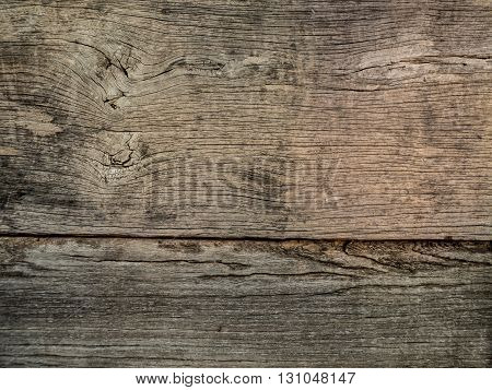 Old wood texture and pattern with separate line.