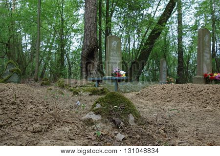 Old Mossy Cemetery
