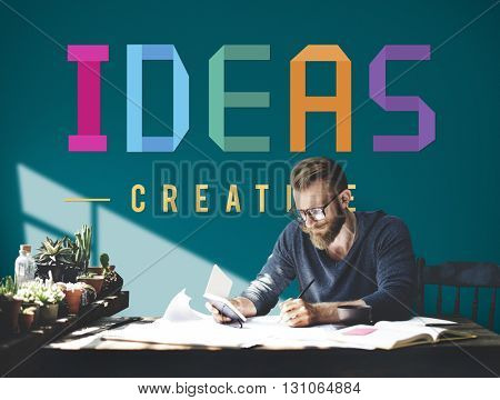 Ideas Plan Design Vision Strategy Thoughts Concept