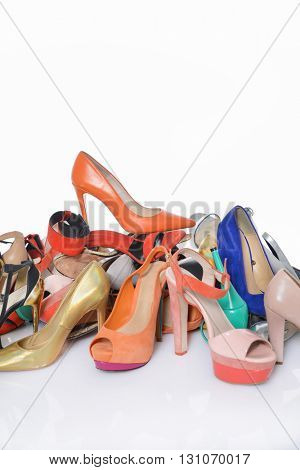Multicolored shoes