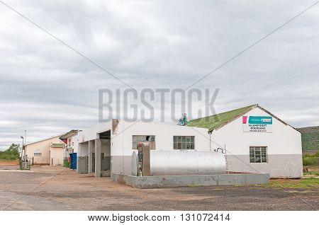 KLEINPOORT SOUTH AFRICA - MARCH 7 2016: A shopping centre in Kleinpoort a small village between Kirkwood and Jansenville in the Eastern Cape Province