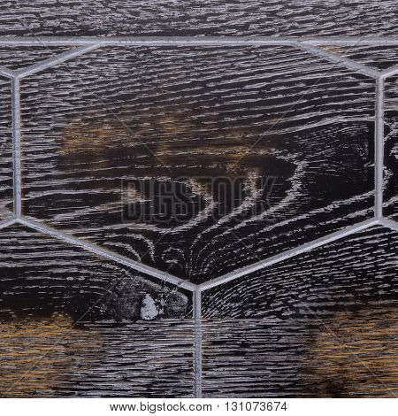 Texture elite modular flooring. Wooden tiles. honeycomb pattern