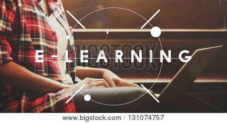 E-learning Education Studying Course Online Concept