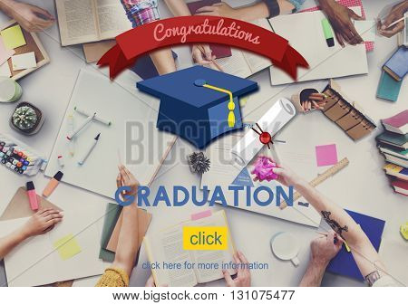 Graduation Graduate Education Academic College Concept