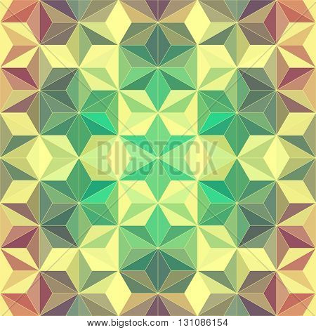 Modern Psychedelic Pattern. Abstract Geometric Background