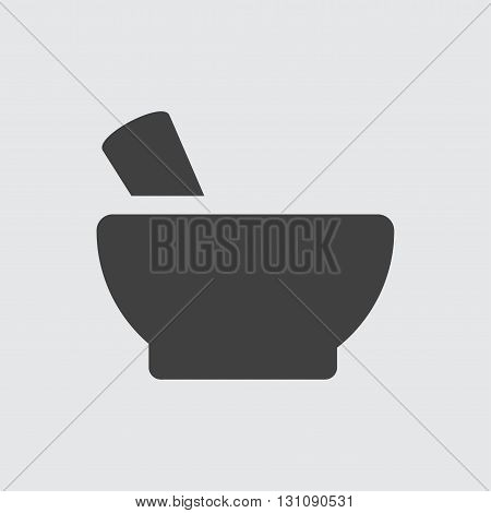 Mortar icon illustration isolated vector sign symbol