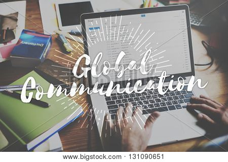 Global Communication Connection Networking Globalization Concept