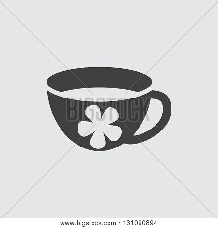 Aroma tea icon illustration isolated vector sign symbol