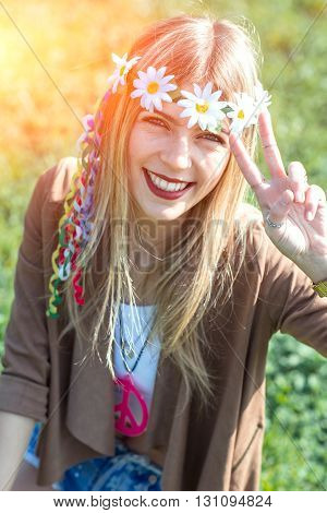 Hippie Girl Style