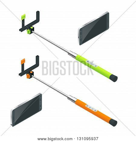 Selfie stick, Selfie sticks, Selfie stick Flat, Selfie stick 3d, Selfie stick vector, Selfie stick isometric, Selfie stick illustration, Selfie stick beach, Selfie stick isolated, Selfie stick summer