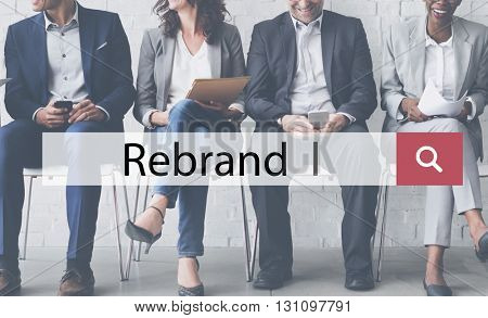 Rebrand Branding Business Change Identity Image Concept