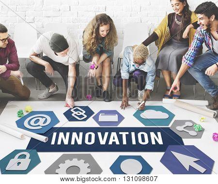 Innovation Creativity Imagination Ideas Concept