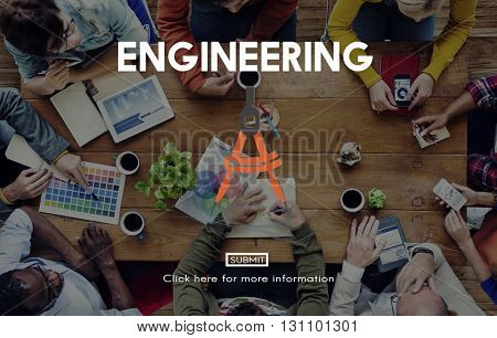 Engineering Occupation Professional Expertise Creative Concept