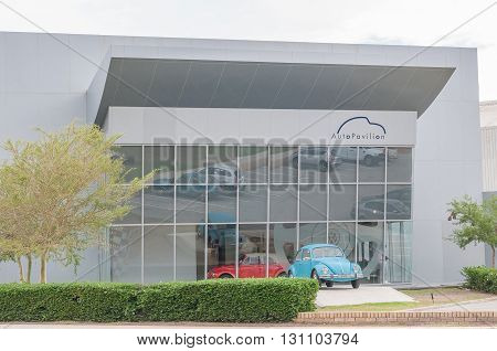 UITENHAGE SOUTH AFRICA - MARCH 7 2016: The AutoPavilion in Uitenhage houses the Volkswagen museum with exhibits of all cars manufactured at this factory