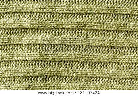 Abstract Yellow Knitting Cloth Texture.