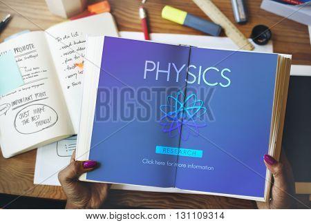 Physics Exploration Formula Science Technology Concept