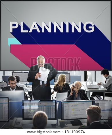 Planning Operation Objective Process Solution Concept