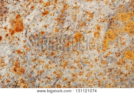 Industrial rusty metal sheet background and  texture.