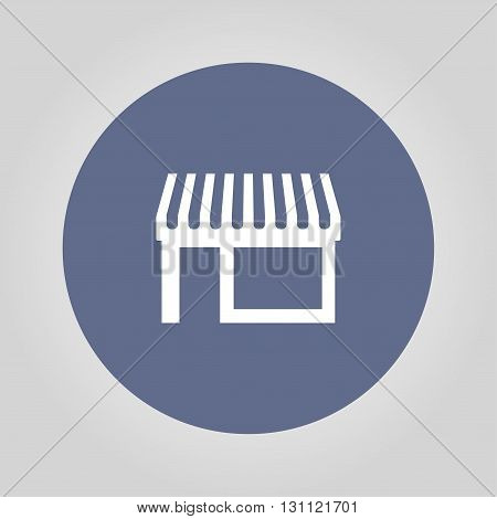 Store icon. Flat design style eps 10