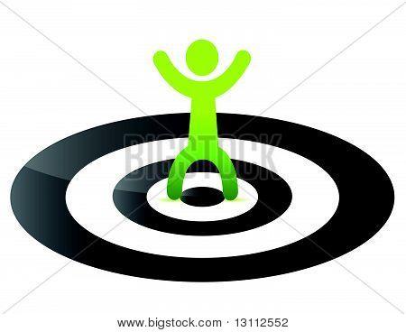 human target point