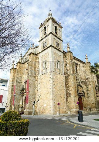 Parish Church of Santiago in Don Benito Extremadura Caceres Spain