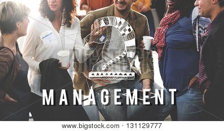 Management Coaching Dealing Process Strategy Concept