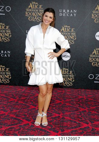 Ali Landry at the Los Angeles premiere of 'Alice Through The Looking Glass' held at the El Capitan Theater in Hollywood, USA on May 23, 2016.