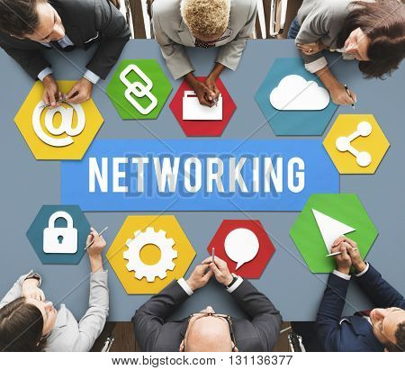 Networking Network Internet Connection Concept