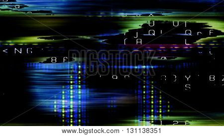 Streaming digital data abstraction 10894 from a series of futuristic tech imagery.