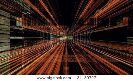 Conceptual futuristic technology digital light abstraction. High resolution illustration 10904.