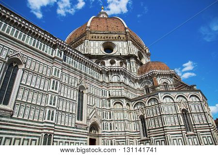 Basilica of Santa Maria del Fiore (Basilica of Saint Mary of the Flower) in Florence, Italy