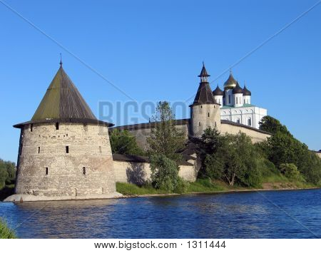 The Pskov Kremlin.