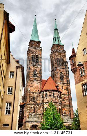 Holy Sebaldus Church in Nuremberg, Germany