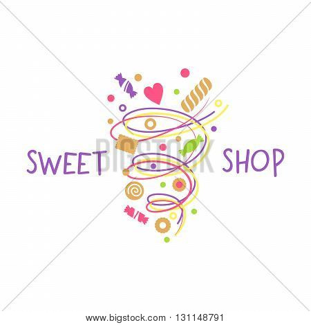 Logo Template For Confectionery, Bakery.