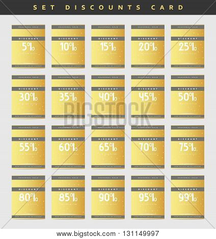 Ready design gold discount coupons from 5 to 99 percent.