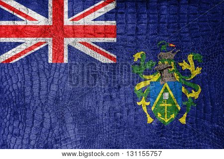 Flag Of Pitcairn Islands, On A Luxurious, Fashionable Canvas