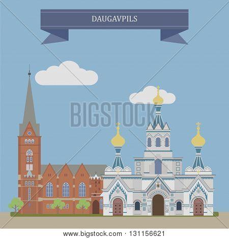 Daugavpil, is city in southeastern Latvia, Europe