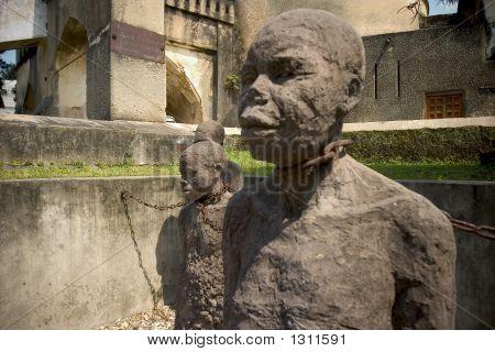 Monumento de escravos
