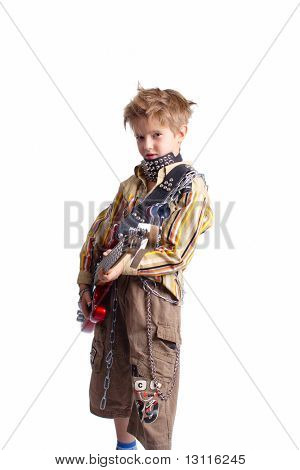 Shock idea for design involve chidren emotion. Isolated with clipping path.