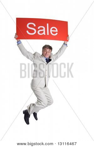 Portrait of a middle age businessman. Shot in studio. Isolated with clipping path.