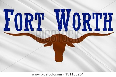 Flag of Fort Worth is the 16th-largest city in the United States and the fifth-largest city in the state of Texas
