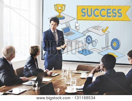 Success Mission Process Goal Planning Concept