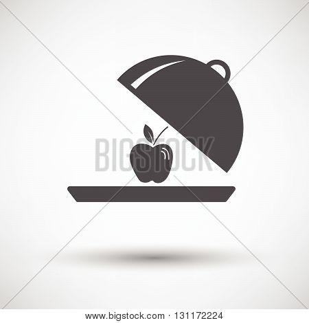 Apple Inside Cloche Icon