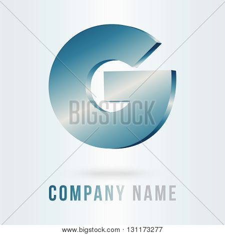 g letter logo design 100%vector easy to re edit and re-size up to your target