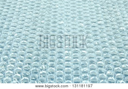Protective bubble wrap seamless texture. plastic sheet