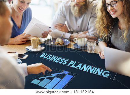Business Planning Strategy Progress Development Concept