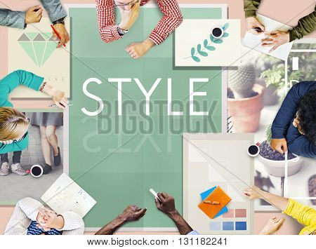 Style Design Creativity Trends Concept