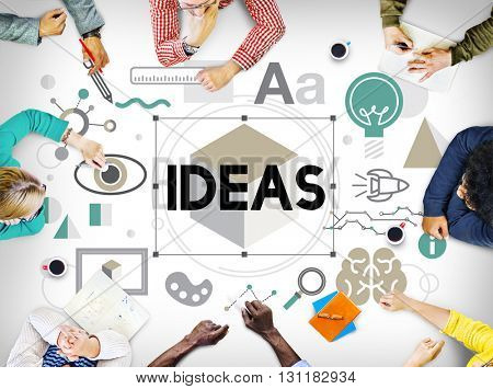Ideas Innovation Graphic Inspiration Artistic Concept